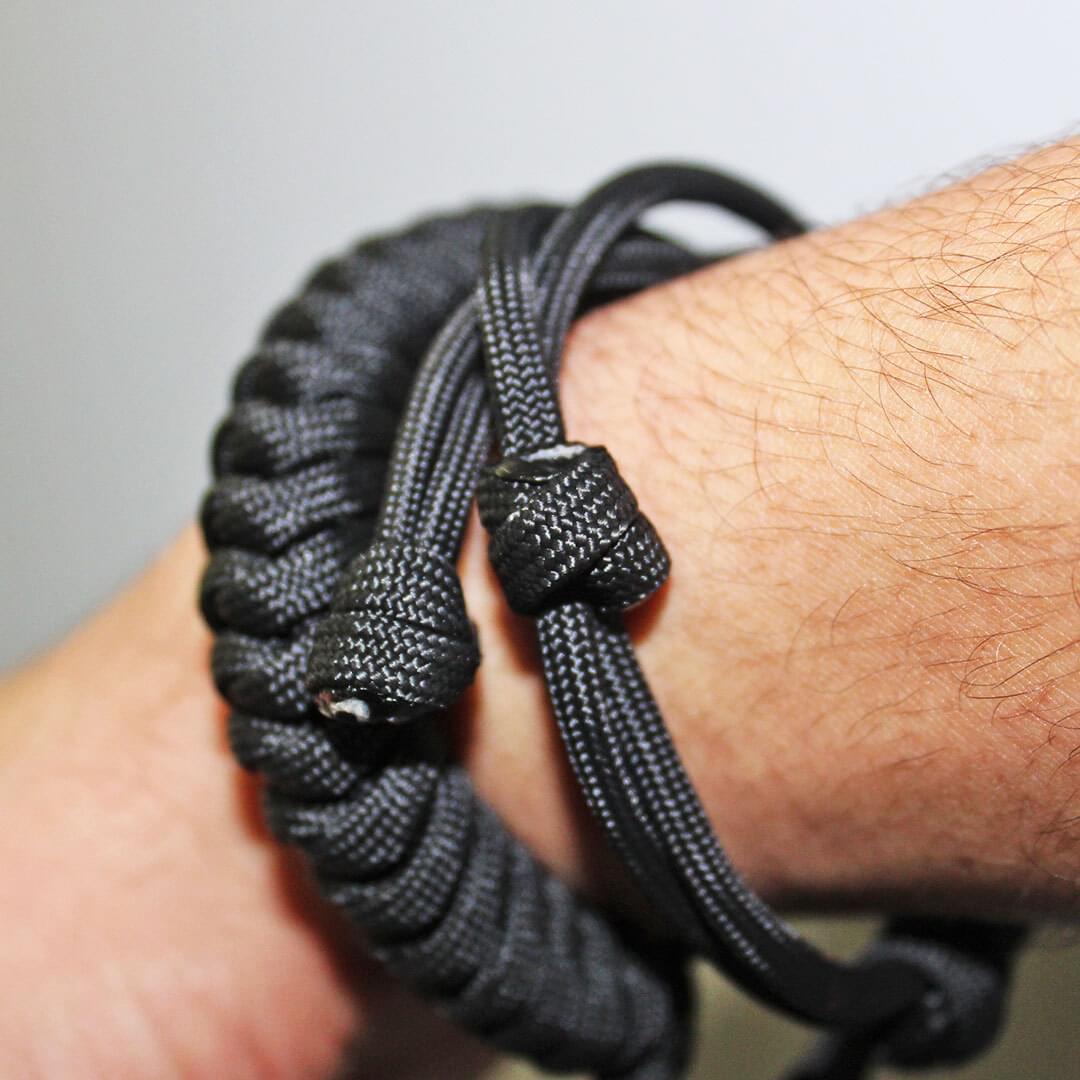 EDC Self Defense Bracelet Everyday Carry Survival Weapon Self Defense Tool Red