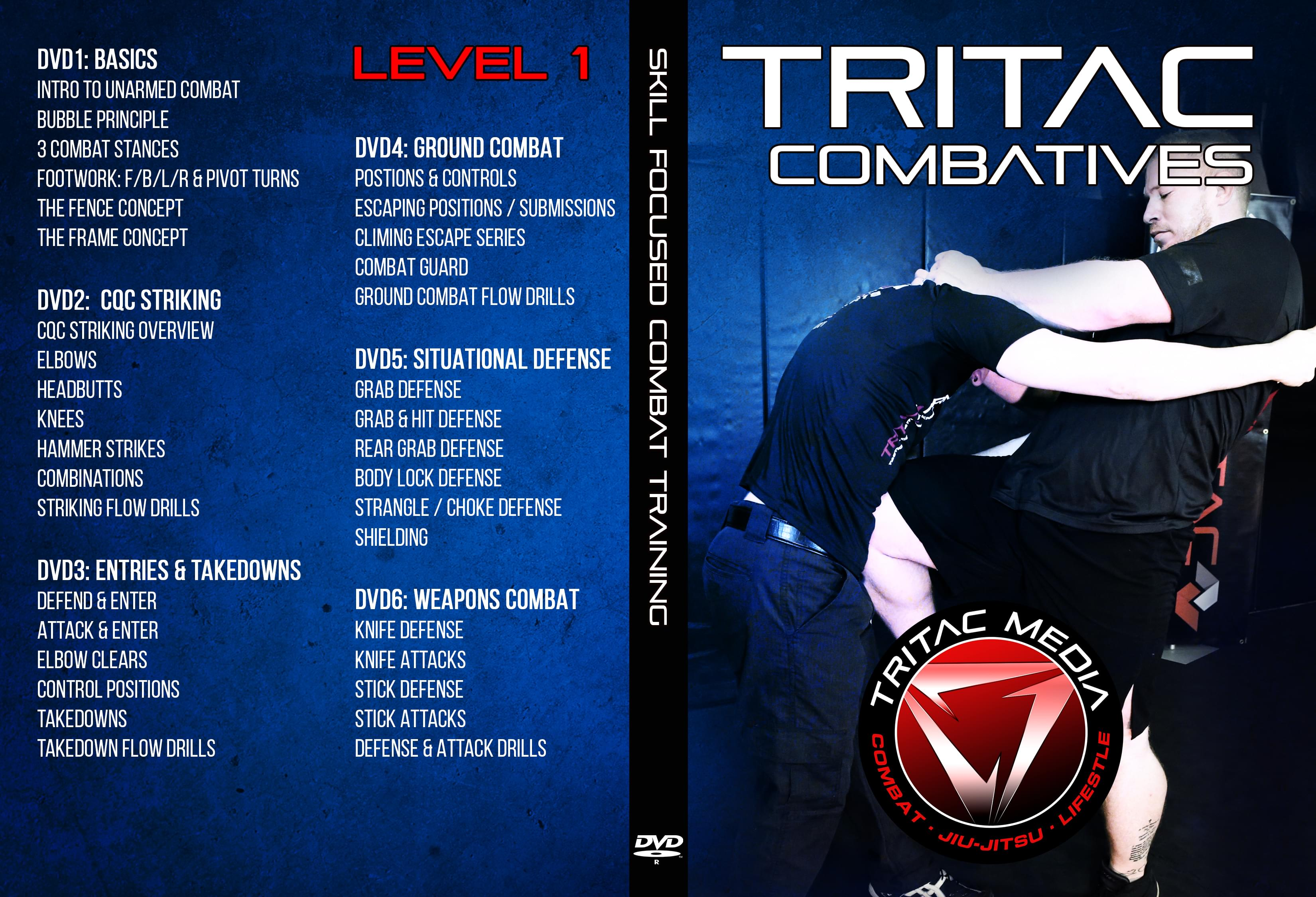 TRITAC COMBATIVES DVD
